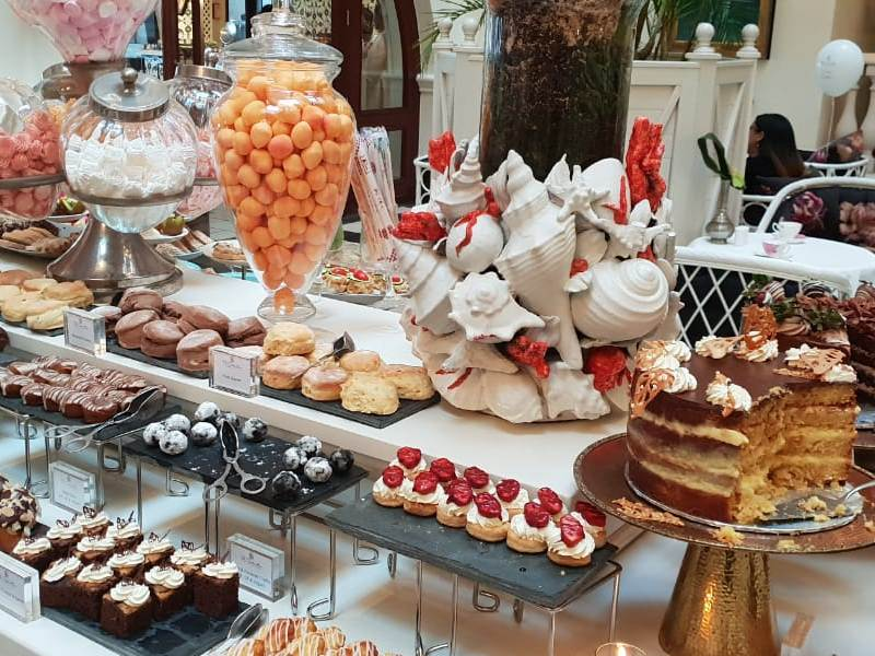 Ladies High tea at the Oysterbox in Umhlanga