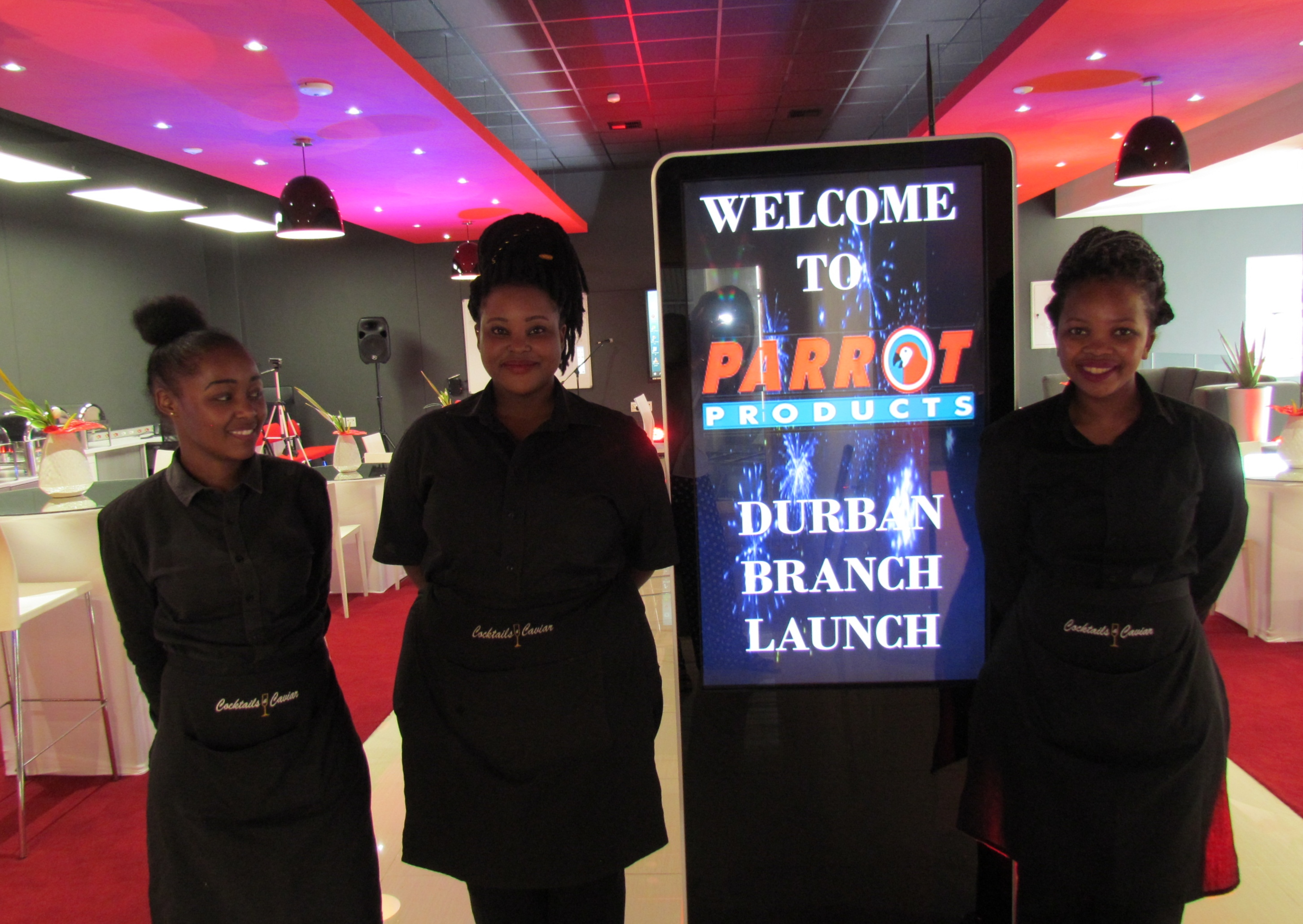 Parrot Stationary branch launch in Durban